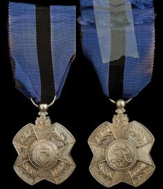 Order of Leopold II Medal 2nd class; Type 1 1900-1908 (Congo Free State).