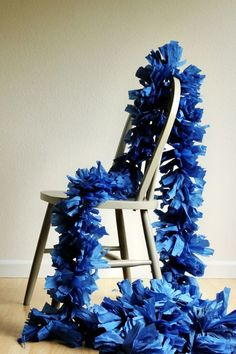 10 Ways To Decorate Your House For Mother's Day | Giant Fringe Garland