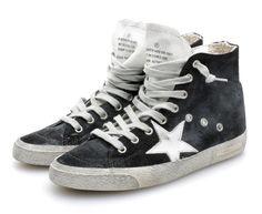 Black Francy Sneakers by Golden Goose