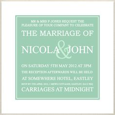 green, mont, hemlock wedding invite, £1.60, #weddinginvitation