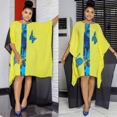 Most stylish collection of ankara short gown styles of 2019 trending today, try these short ankara gown styles African Wear Dresses, Latest African Fashion Dresses, African Print Fashion, African Attire, Ankara Fashion, Ankara Short Gown Styles, Short Gowns, Beautiful Ankara Styles, Vetement Fashion