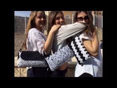 Carteras de papel reciclado Isabel Puig - YouTube