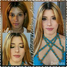 Mom to be  #momtobe #babyshower #makeup #beforeandafter