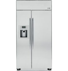 Buy GE PSB48YSXSS Profile 29.6 Cu. Ft. Stainless Steel Counter Depth Built-In Side-By-Side Refrigerator online | Trusted Since 1951