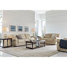 Shop for a Sofia Vergara Castilla White Leather 2 Pc Living Room ...