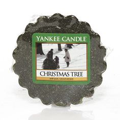Christmas Tree Yankee Candle Company Tarts® Wax Melts - Like going out in the snow to find that special tree ... fresh, familiar pine with crisp eucalyptus.