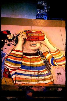 De mis favoritas. Graffiti Art, Street Art, Urban, Artists, Painting, Colombia, Painting Art, Paintings, Painted Canvas