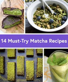14 Must-Try Matcha Recipes You'll Drool Over, via @DailyBurn