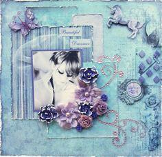 Swirlydoos - StephD beautiful dreamer layout.  love the softness.