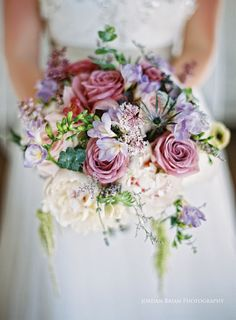 View more #BridalBouquets from weddings at www.jordanbrian.com