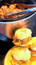 Inspired By eRecipeCards: 4 Ingredient ROOT BEER PULLED PORK in a Slow Cooker - Church PotLuck Main Course