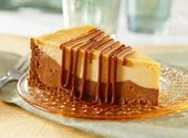 Chocolate & Peanut Butter Fudge Cheesecake