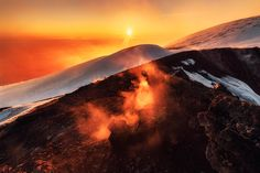 Mount Etna Volcano Photos by Lukas Furlan | Abduzeedo Design Inspiration