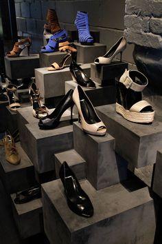 VM | Footware Visual Merchandising | Pierre Hardy's New York store