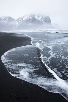 Fall jewelry inspiration: the volcanic shores of Vik, Iceland