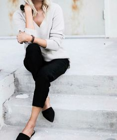 The Best Summer Outfit Ideas With Black Flats 20