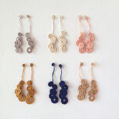 'hirahira' 耳飾り2