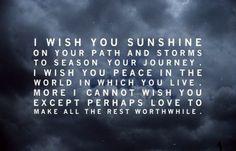 i wish you sunshines