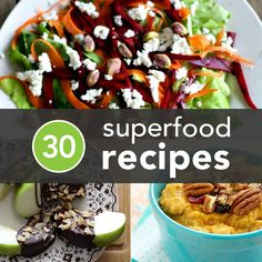 Start the week off right with @Greatist's  superfood recipes. We're craving the kale, almond, banana smoothie with chia seeds from @Felicia Davidsson Sullivan!