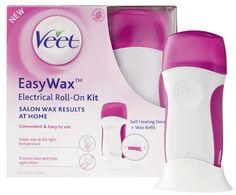 VEET Easy Wax -aloituspakkaus säärille ja keholle 50ml Kuumavahalaite ja täyttöpakkaus säärikarvojen poistoon.
