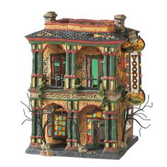 """Department 56: Products - """"Voodoo Lounge"""" - View Lighted Buildings"""