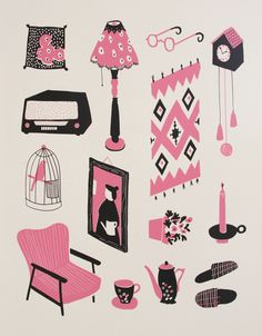 Grannies Collection by Ilse Weisfelt, via Behance