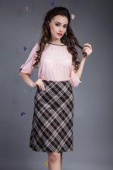 Camasa Erika Roz- www.zonia.ro Spring Collection, Erika, Casual, Skirts, Vintage, Style, Fashion, Swag, Moda