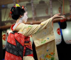 Geiko-san & Maiko-san — what are some of your favorite geiko and maiko...