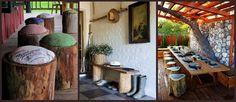 tocones de madera para decorar hogar (13)