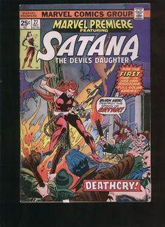 Marvel Premiere #27 with Satana