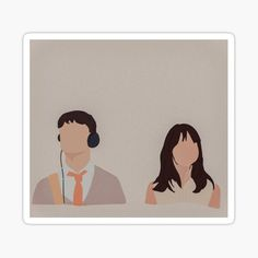 500 Days Of Summer stickers featuring millions of original designs created by independent artists. 500 Dias Con Summer, 500 Days Of Summer, Couple Illustration, Illustration Art, Cover Wattpad, Cute Couple Drawings, Watercolor Paintings For Beginners, Portrait Cartoon, Summer Poster