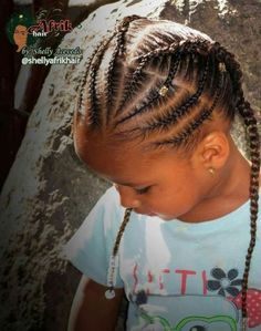 Hairstyles braids 50 trendy braids cornrows kids little girls hair style 50 tranças na moda trancinhas crianças estilo de cabelo meninas # tranças Lil Girl Hairstyles, Natural Hairstyles For Kids, Kids Braided Hairstyles, My Hairstyle, Teenage Hairstyles, Ponytail Hairstyles, Natural Hair Styles Kids, Stylish Hairstyles, Toddler Hairstyles