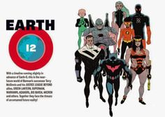 dc multiversity earth 7   ... The future Justice League from DCAU are part of the New 52 multiverse