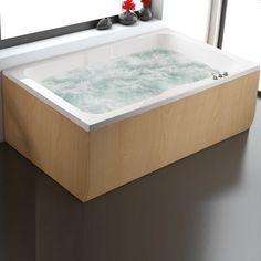 Giorgio Miskaki Hermes Modern Rectangular Double Ended Bathtub 180×115 - FLOBALI #ΜΠΑΝΙΟ #Μπανιέρες #Ευθύγραμμες, #bath #bathtub #bathtubs #bathtubdesign #bathdesign #bathdecor #bathdesigns #bathdesigner #bathdesignideas #design #designs #designbathroom