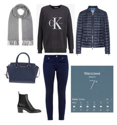 """""""Outfit of the day"""" by slowurbanlife on Polyvore featuring moda, Moncler, Christian Louboutin, Acne Studios, Michael Kors i Ted Baker"""