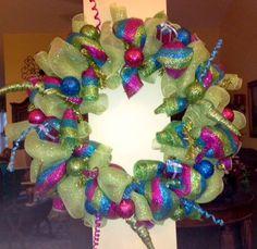 "Deco Mesh 30"" Wreath"
