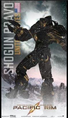 Pacific Rim Jaeger #ShogunBravo