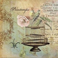Ptintemps (Springtime) found on http://seeshappyhome.blogspot.com/ Wendy Schultz ~ Printables.