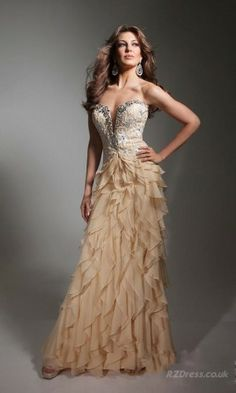 Prom dresses, Dresses and Gold on Pinterest