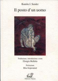 """copertina del libro """"Il posto d'un uomo"""" di Ramòn J. Sender"""