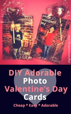 Learn how to make this fun DIY Photo Valentine's Day Card for kids