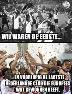 Feyenoord Rotterdam (jaartal: 1970 tot 1980) - Foto's SERC Rotterdam, British Football, Club, Football Soccer, History, Memes, Funny, Sports, Life
