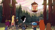 it's a Giant explosion, kinda does look like a muffin Gravity Falls Town, Oregon, Fall Background, Reverse Falls, Tourist Trap, Backrounds, Hologram, Time Travel, Illusions