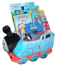 Thomas the Train Gift Basket (Ages 3+) - Perfect for Easter, Birthday, Christmas, or Other Occasion - Listing price: $124.95 Now: $99.95