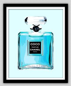 Wall Decor Chanel Chanel Print Modern Home by lulusimonSTUDIO