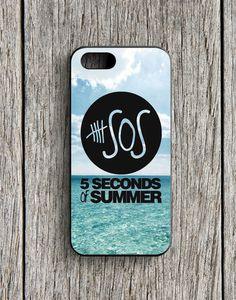 5 Second Of Summer Ocean Logo iPhone 5 | 5S Case
