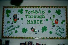 March bulletin board