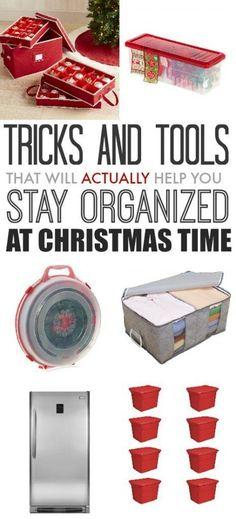15 Smart Ways for Storing & Organizing Christmas Decorations ...