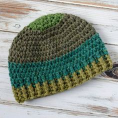 2eb73b3fb3f Brawny Beanie Mens Crochet Beanie