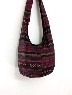 Women bag Woven Cotton Bag Hippie bag Hobo bag Boho bag Shoulder bag Sling bag Messenger bag Tote bag Crossbody Purse Handbags on Etsy, £8.17